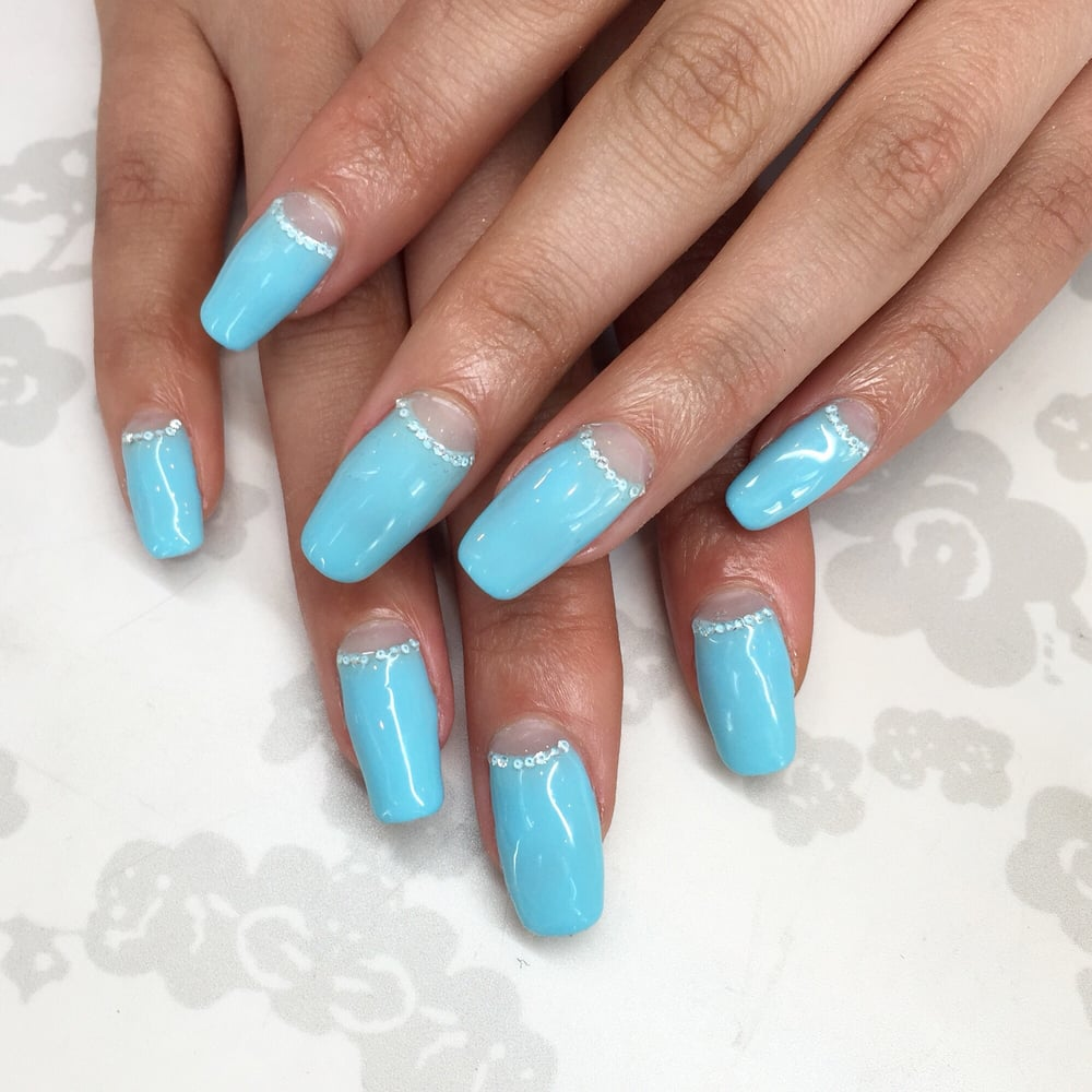 Diamond manicure for Dorothy Wang By Lexi - Yelp