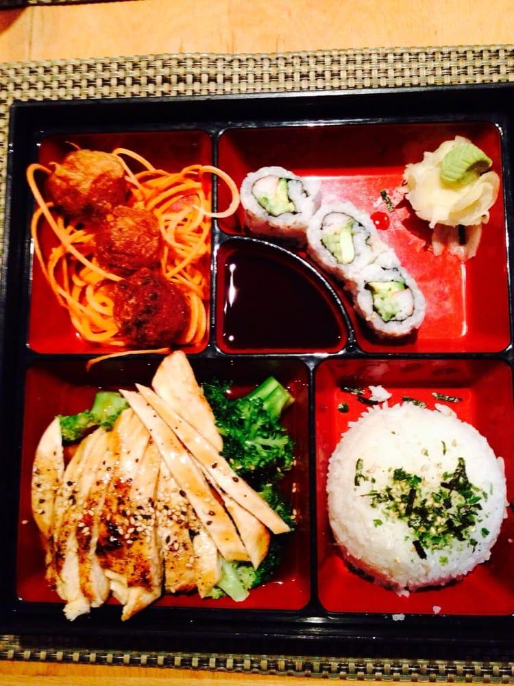 Chicken teriyaki lunch bento yelp for One fish two fish restaurant
