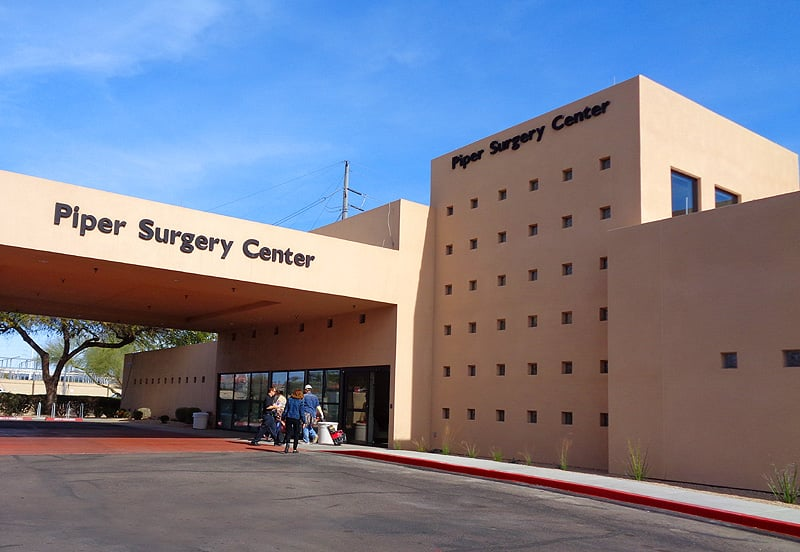 Piper Surgery Center, in the HonorHealth Scottsdale Shea ...