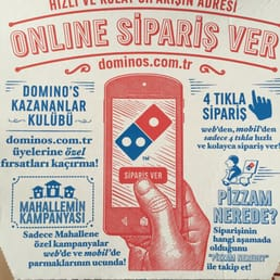 Dominos Pizza Pizza Mimar Sinan Mh Kocaeli Türkei Beiträge