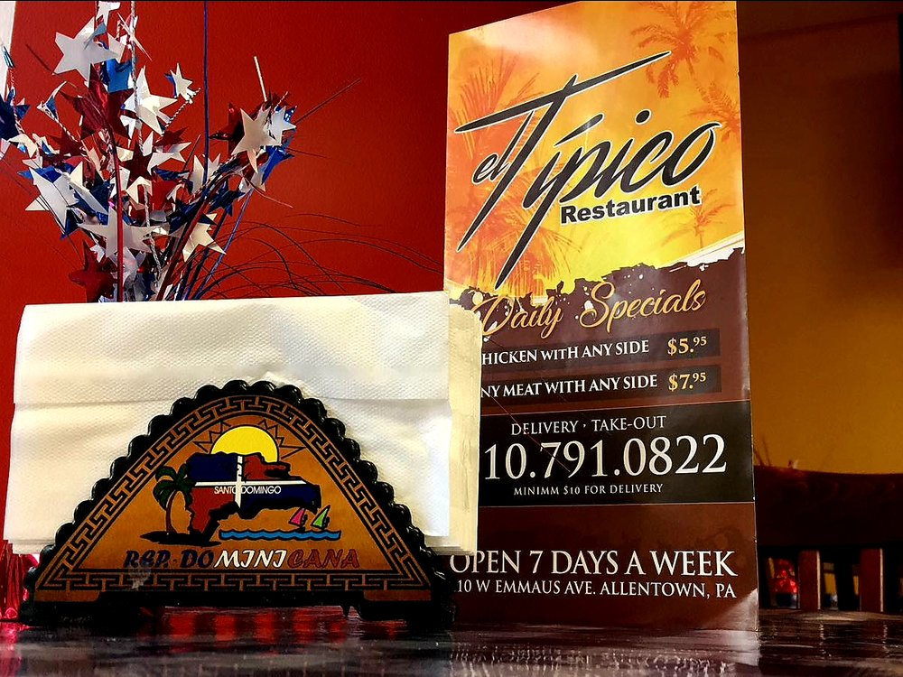 El Tipico: 410 W Emaus Ave, Allentown, PA