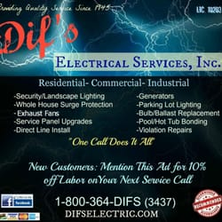 Photo Of Difs Electrical Services