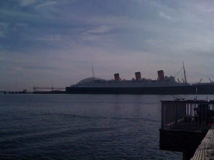 The queen mary from a fishing pier yelp for Queen mary fishing report