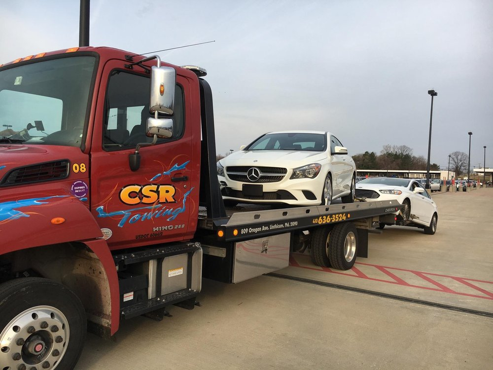 CSR Towing of Baltimore: 809 Oregon Ave, Linthicum Heights, MD