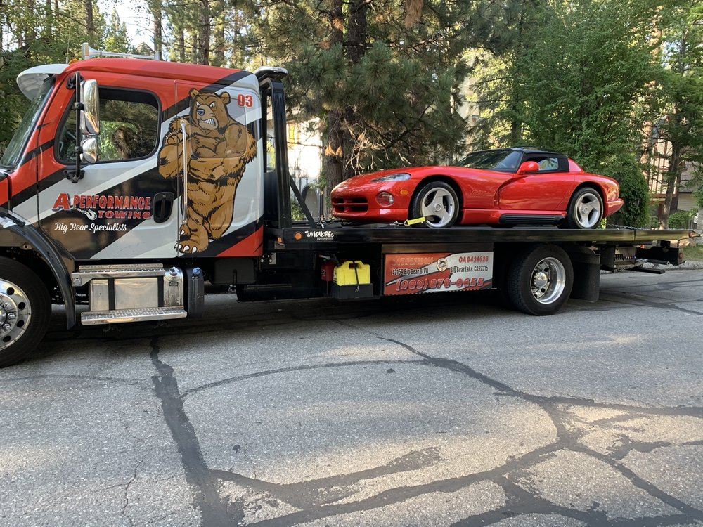 Towing business in Big Bear City, CA