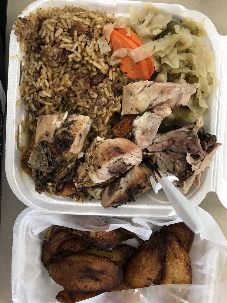 Caribbean Jerk Resturant: 59 W 159th St, Harvey, IL