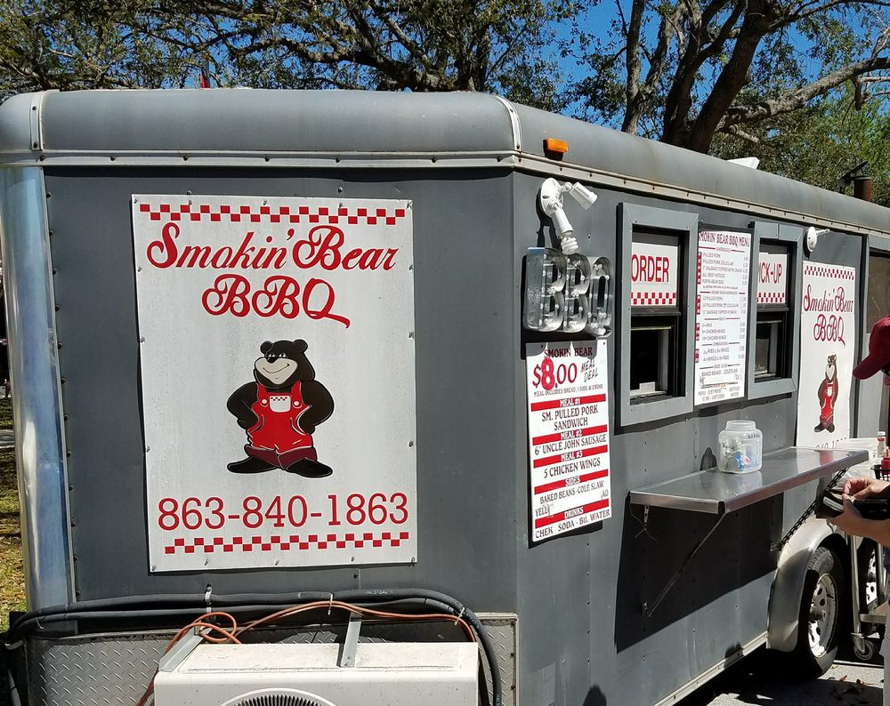 Smokin Bear Bbq: 110 Plaza Ave, Lake Placid, FL