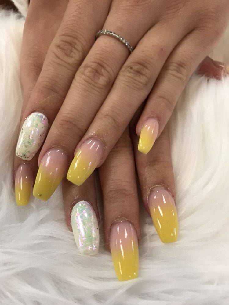 Yellow ombré - Yelp
