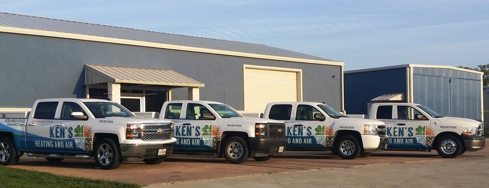 Ken's Heating & Air Conditioning: 2102 Commerce St, Marble Falls, TX