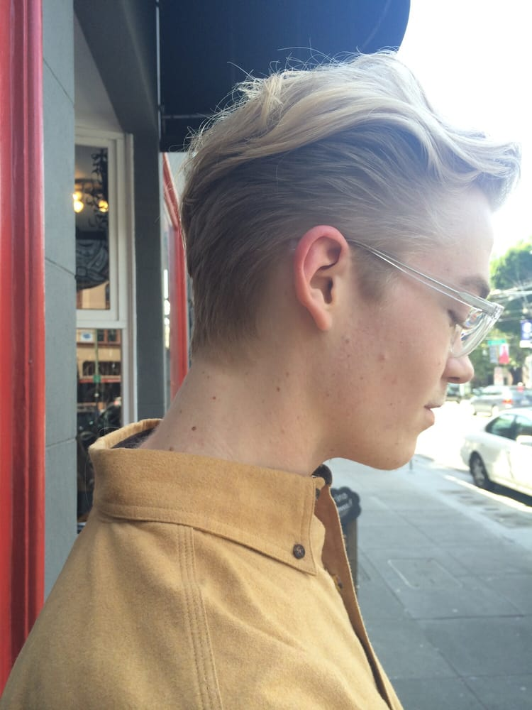 Mens Undercut With Shears By London Yelp - Undercut hairstyle london