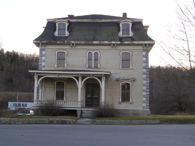 Photo Of The U0027Hauntedu0027 House   Frankfort, ME, United States. The