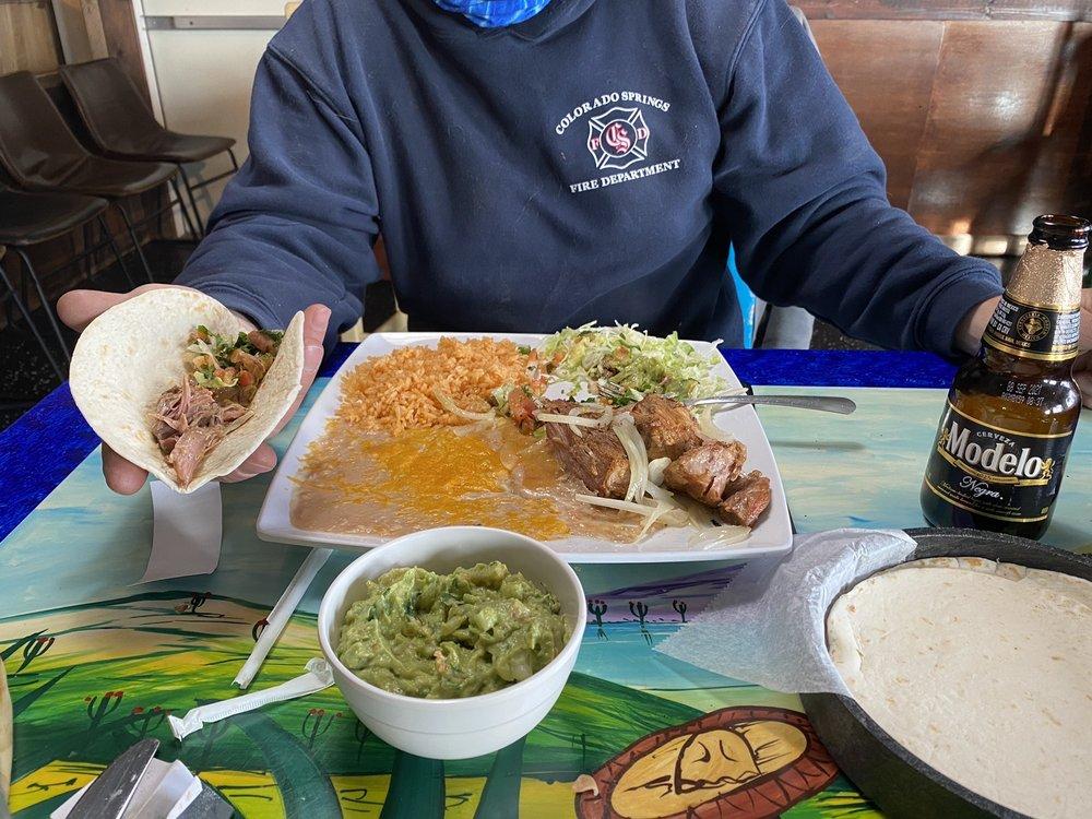 El Cerrito Family Restaurant: 7517 E State Hwy 86, Franktown, CO