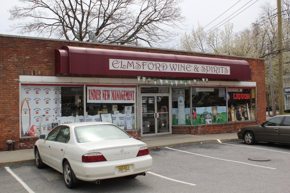 Elmsford Wine & Spirits: 111 E Main St, Elmsford, NY