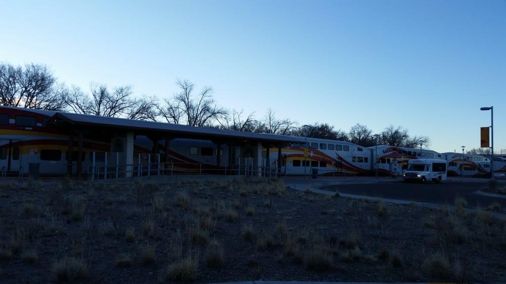 Sandia Pueblo Railrunner Station
