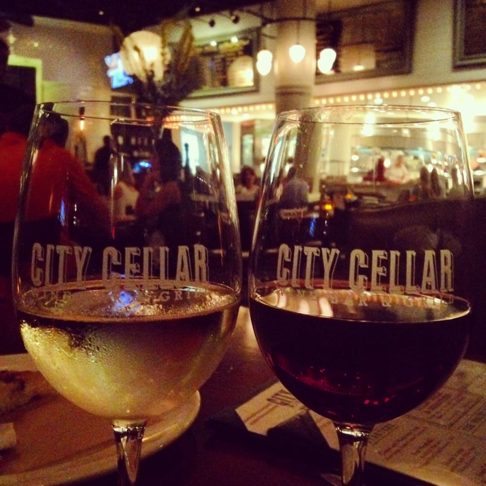 Featured wine for the night yelp - City cellar wine bar grill ...