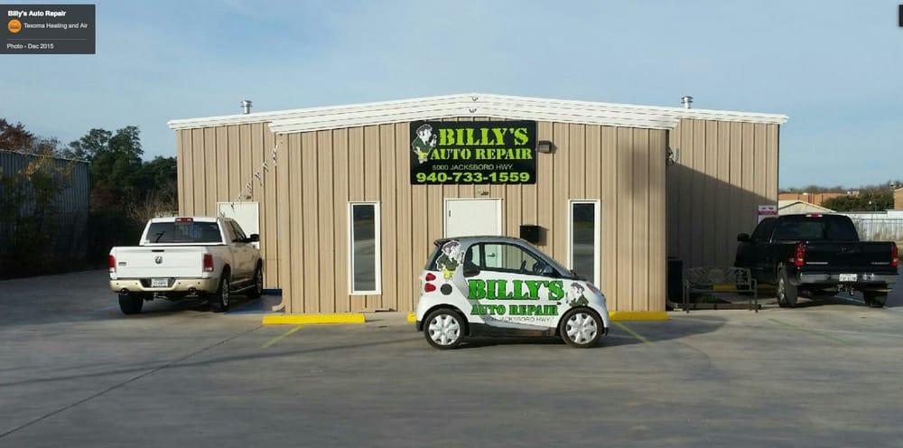 Billy's Auto Repair: 5000 Old Jacksboro Hwy, Wichita Falls, TX