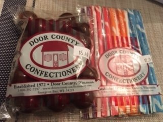 Door County Confectionery: 9842 Water St S, Ephraim, WI