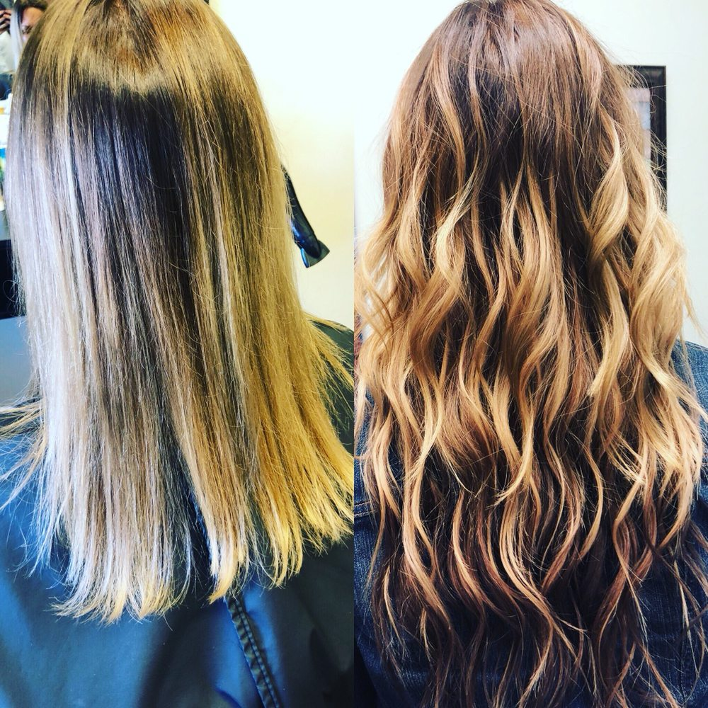 Individual Hair Extensions Before And After Yelp