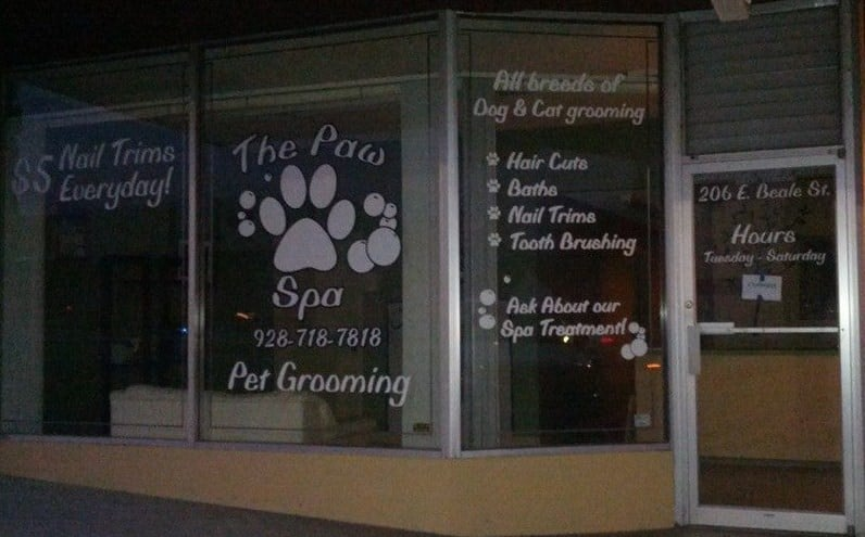 The Paw Spa: 206 E Beale St, Kingman, AZ