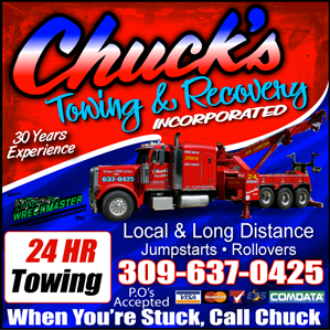 Towing business in Bartonville, IL