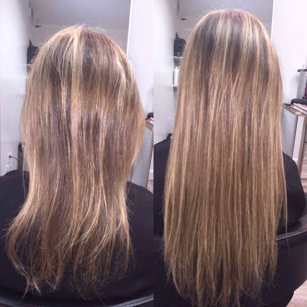 Hair Extensions By Jordyn Olawumi Of Salon Snob Before And After