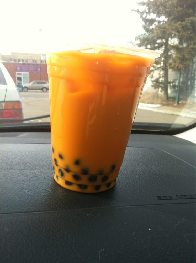 Thai Tea Boba Over Ice Yelp