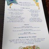 Cinderellas Royal Table Photos Reviews American - Cinderella's royal table prices