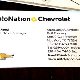 Photo Of AutoNation Chevrolet Gulf Freeway   Houston, TX, United States.  David Reed