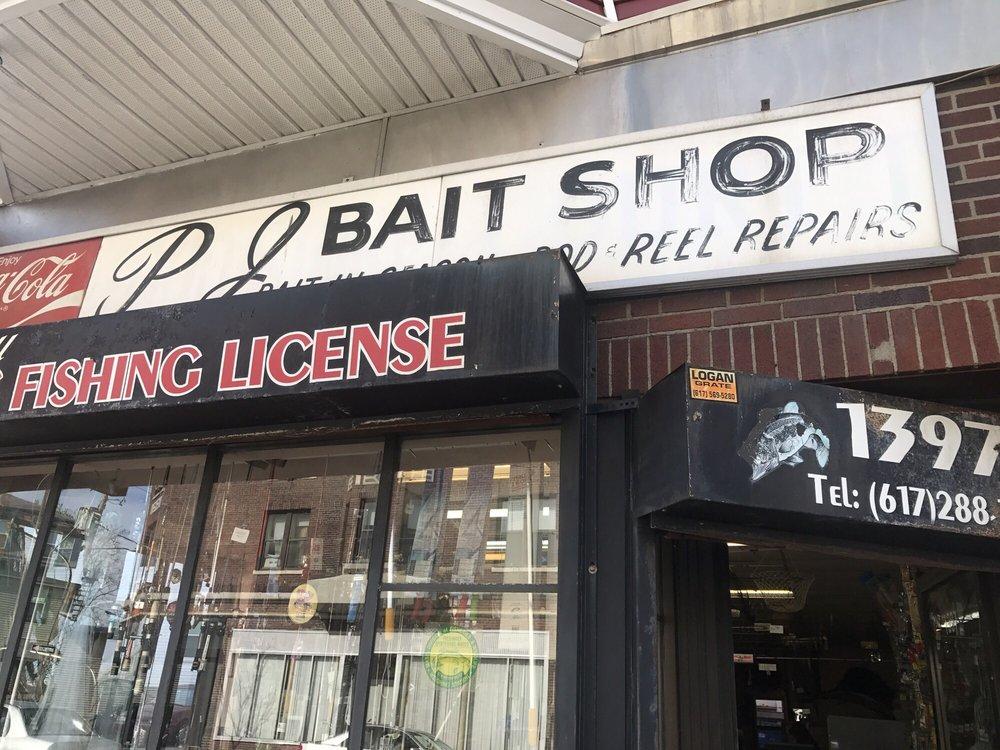 P & J Bait Shop: 1397 Dorchester Ave, Dorchester, MA