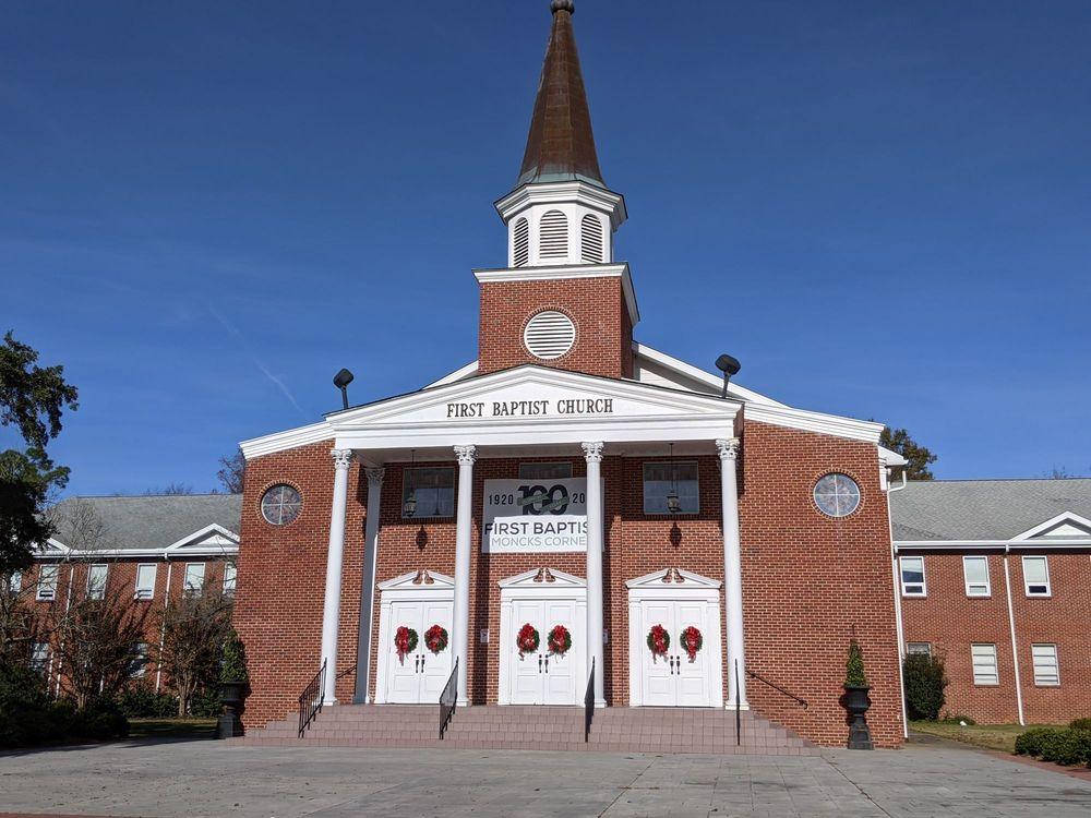 First Baptist Church: 112 E Main St, Moncks Corner, SC