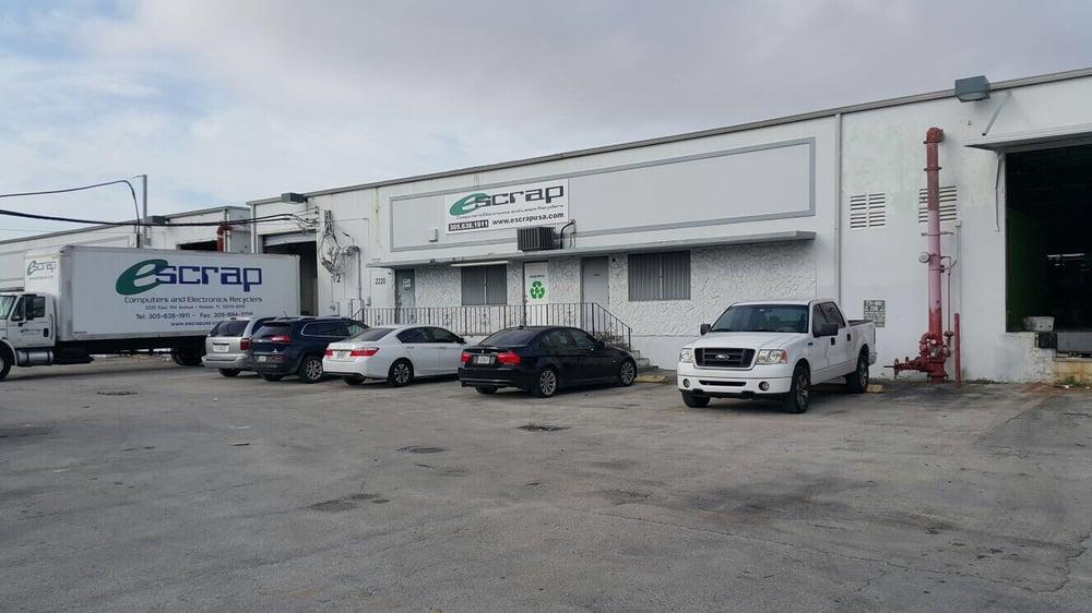E-Scrap: 2220 E 11th Ave, Hialeah, FL