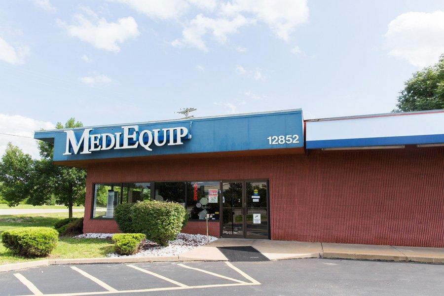 MediEquip: 12852 Manchester Rd, Saint Louis, MO