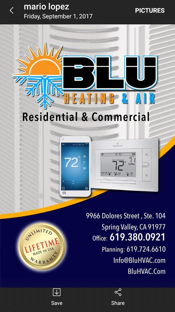 Blu Hvac Heating & Air