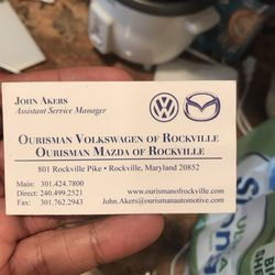 Ourisman VW Rockville >> Ourisman Volkswagen Of Rockville 801 Rockville Pike