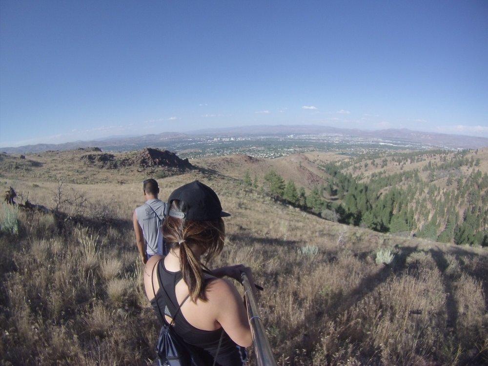 Cross Peak Hiking Trail