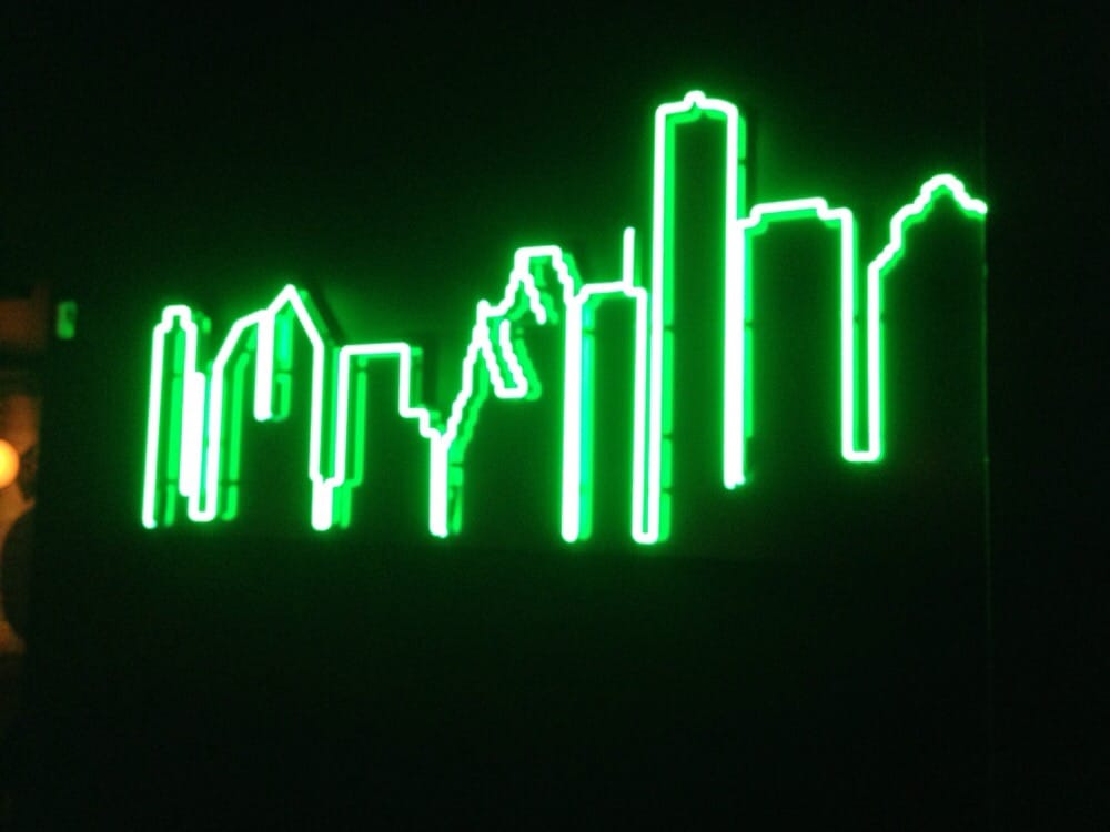 skyline sign neon - photo #23