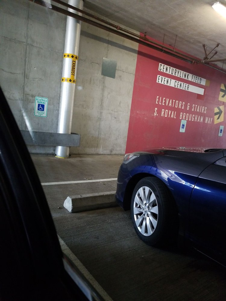 CenturyLink South Parking Garage