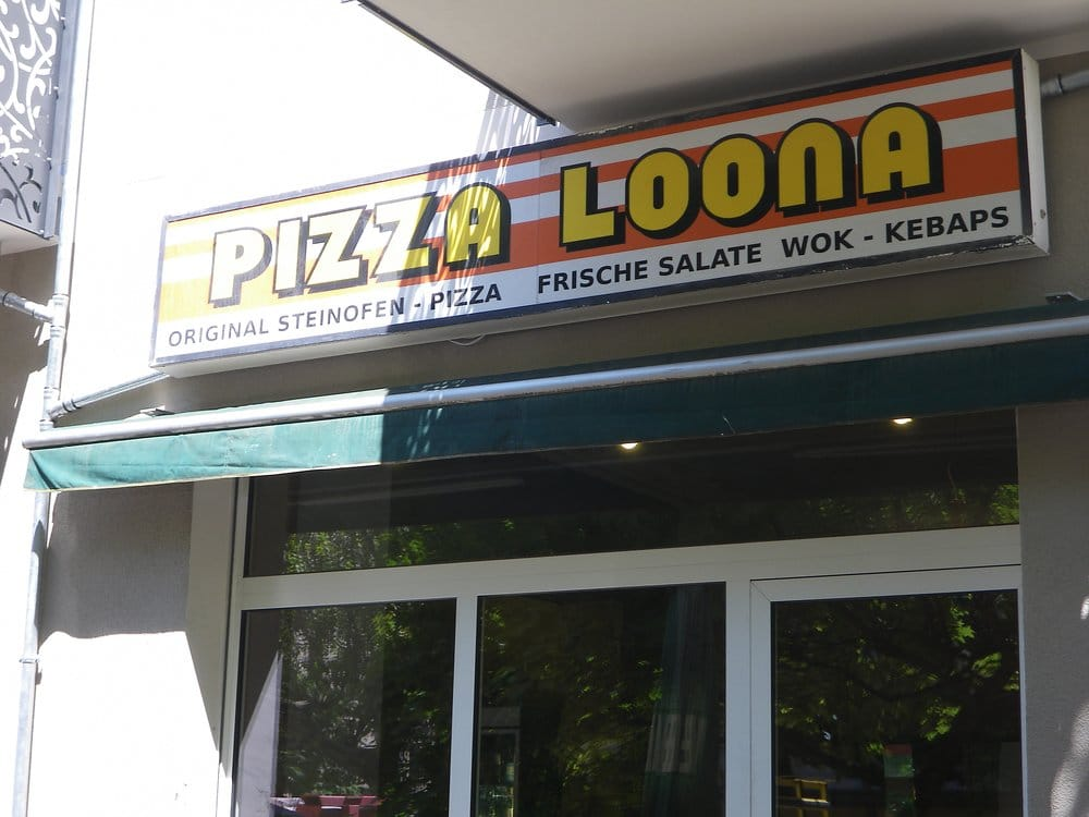 pizza loona st ngt pizza oderberger str 7 prenzlauer berg berlin tyskland. Black Bedroom Furniture Sets. Home Design Ideas