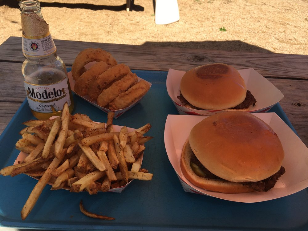 Bill's Burgers, Wings & Things: 306 W Polk St, Burnet, TX