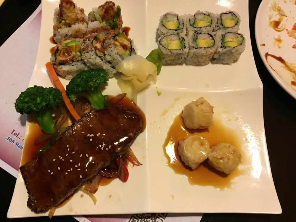 Food from Sushi House