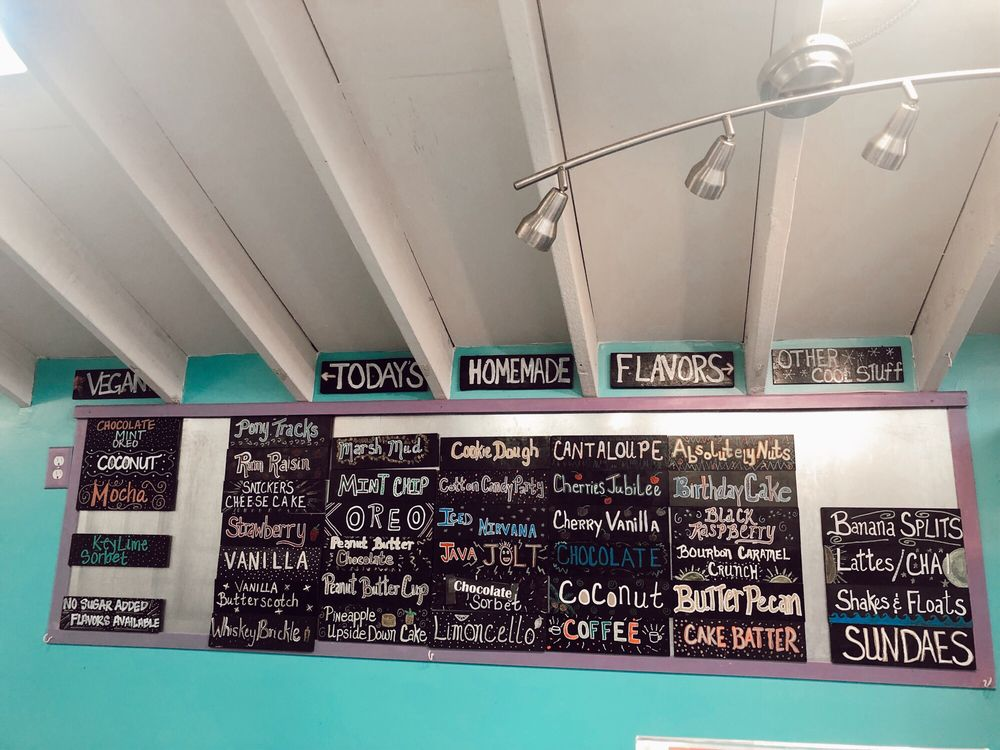 Island Creamery: 6243 Maddox Blvd, Chincoteague Island, VA