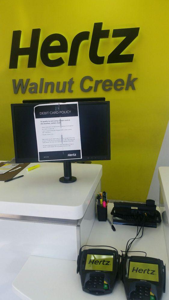 Hertz Car Rental Walnut Creek