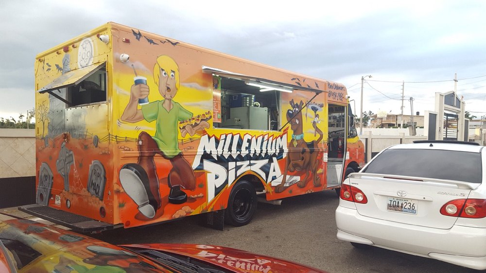 Millenium Pizza: Rd. 416 and Nativo Alers Ave, Aguada, PR
