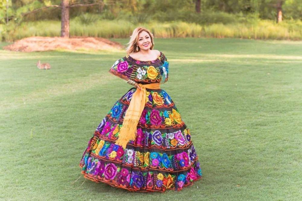 1e0744236 Vestido Chiapas Doble Vuelo Modelo Diana Torres - Yelp