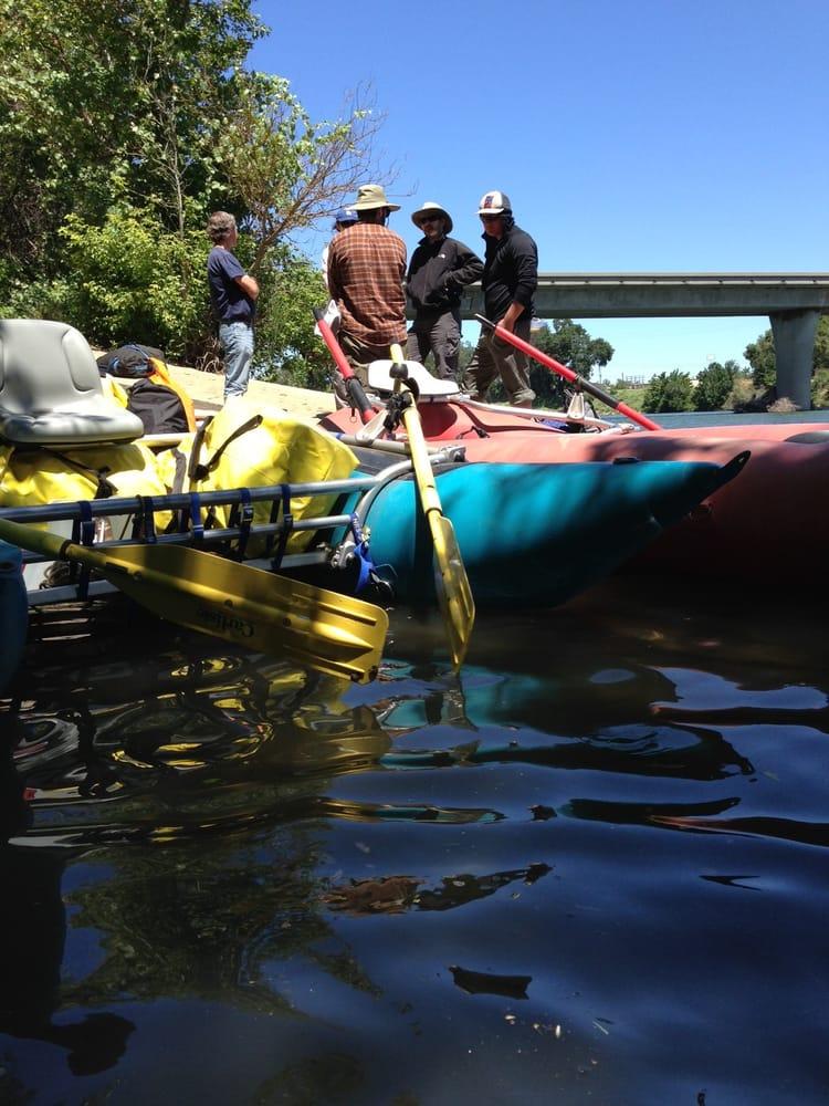 North Country Raft Rental: Sundial Bridge Drive At Turtle Bay, Redding, CA