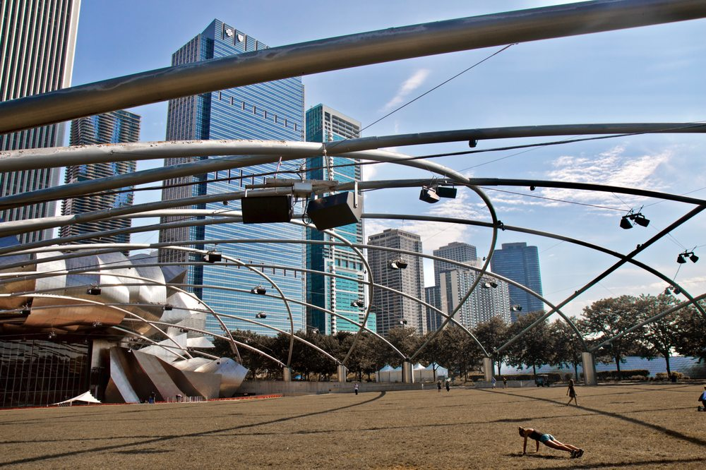 Social Spots from Millennium Park