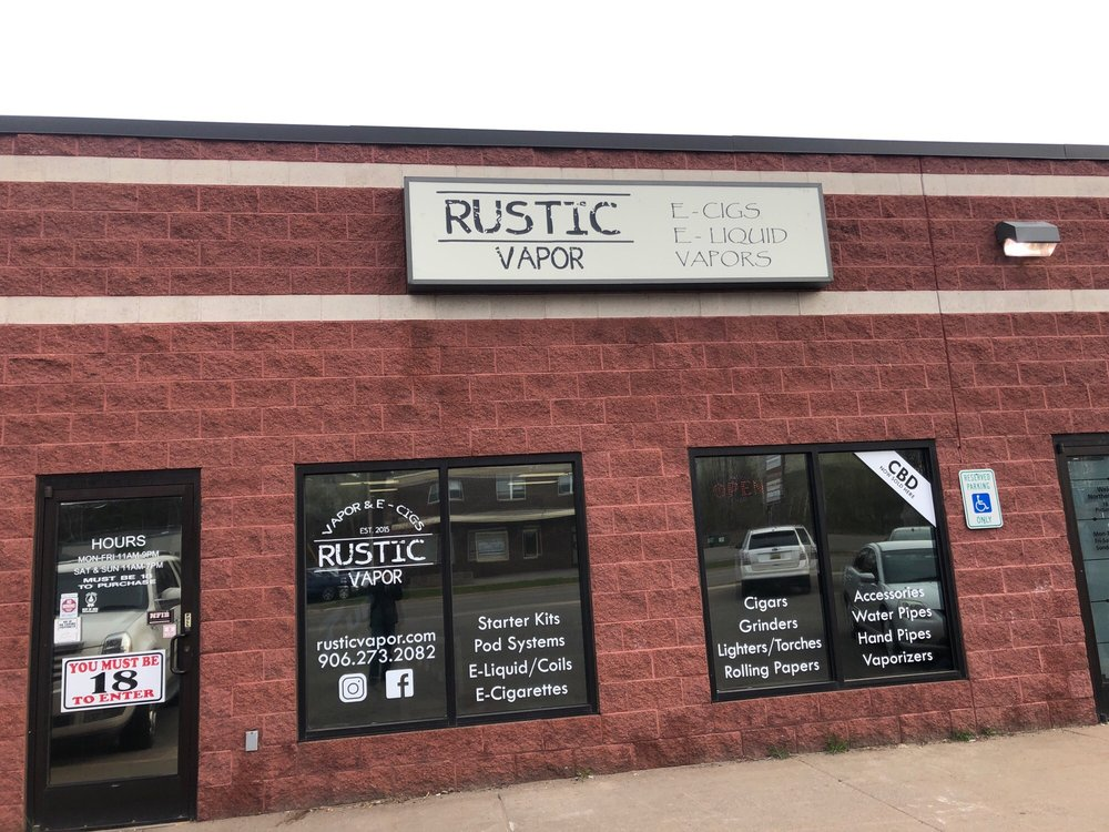 Rustic Vapor: 1021 W Washington St, Marquette, MI