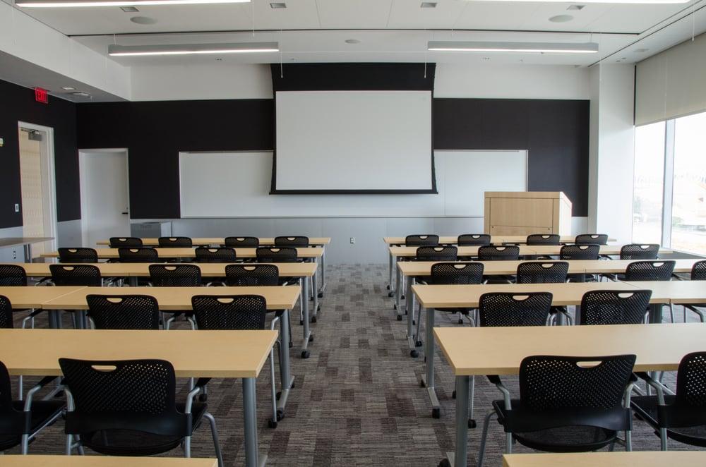 The Classroom Seats Up To 50 People Full Av Capabilities