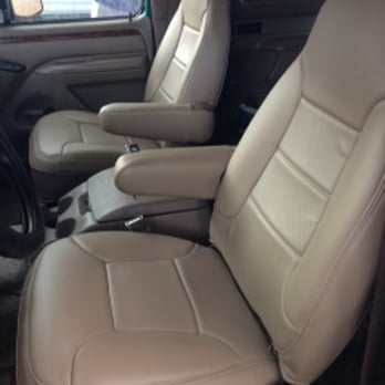 Exclusive auto tops upholstery repair garages 6300 for Garage seat 91