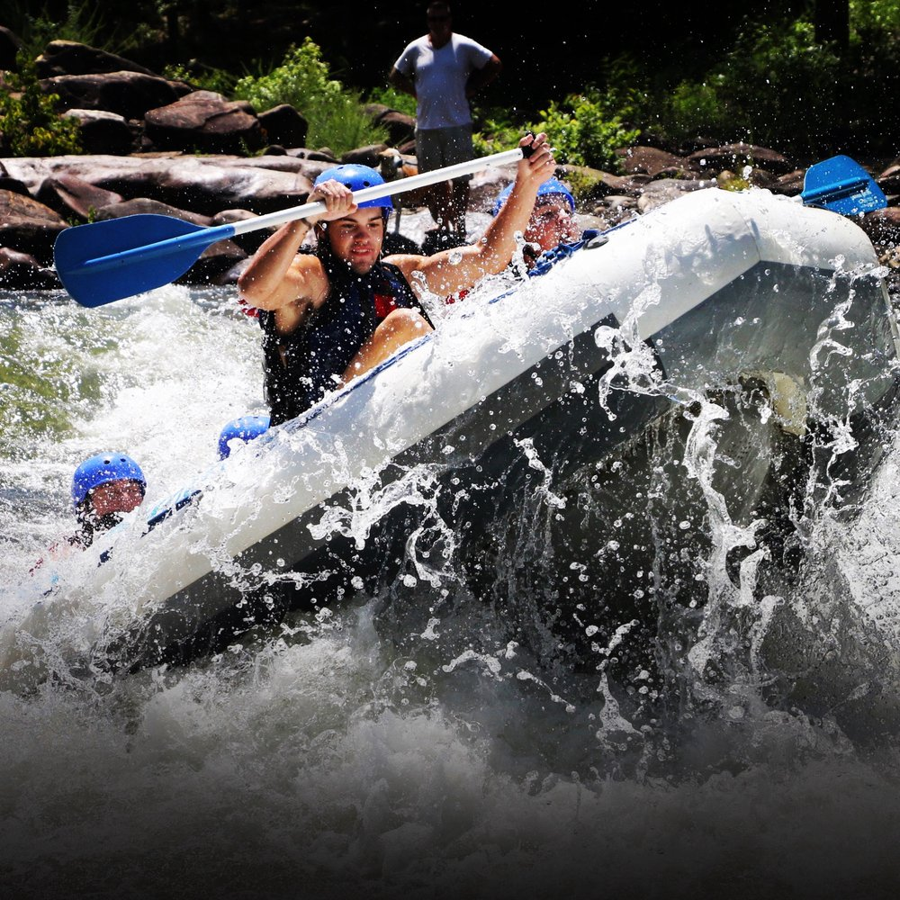 Cherokee Rafting: 869 Hwy 64, Ocoee, TN